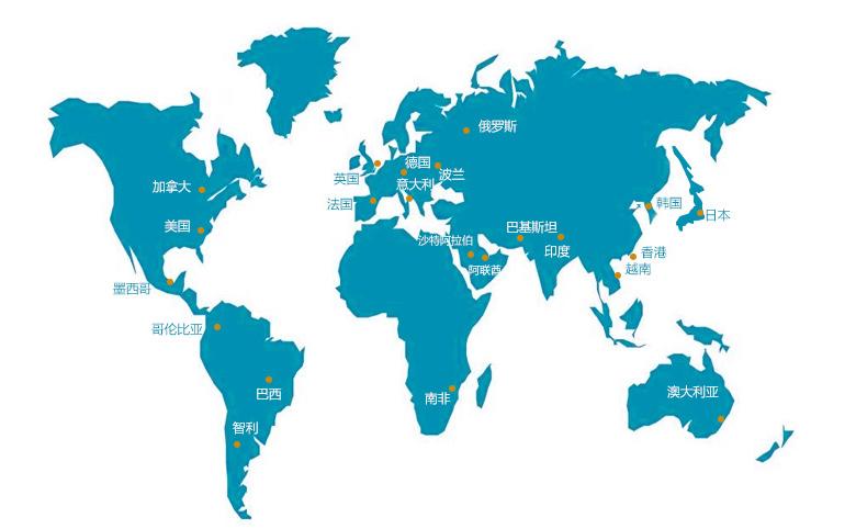 国外手绘地图设计